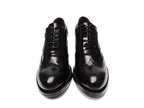 Nero Giardini 19360 scarpe da donna francesine in pelle col. Nero tacco cm. 7, num. 40