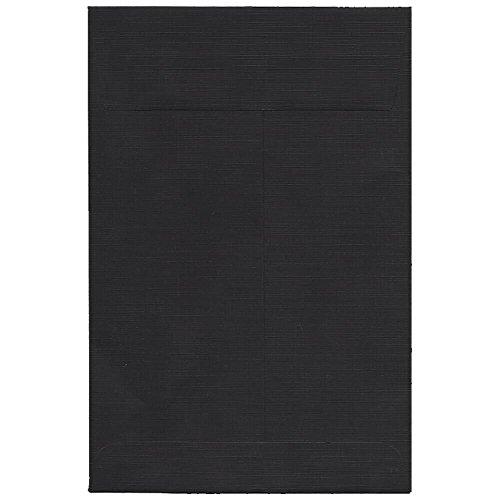"""UPC 609722708104, JAM Paper 6"""" x 9"""" Open End Catalog Envelope - Black - 100/pack"""