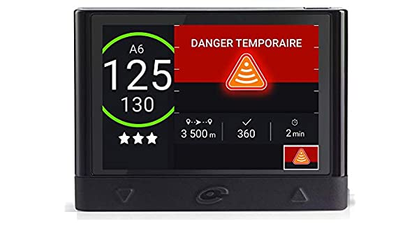 Coyote - Asistente Mini - Ayuda a la conducción - Alertas en Tiempo Real - Anticipación de los peligros a 30 km - Nueva regulación 80 km/h: Amazon.es: ...