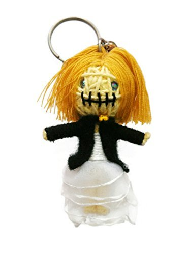 Tiffany Bride of Chucky Chucky Voodoo String Doll Keyring Keychain