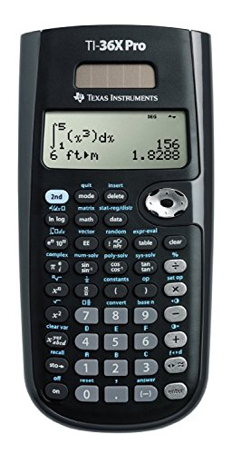 Texas Instruments TI-36X Pro Engineering/Scientific Calculator Size: Handheld