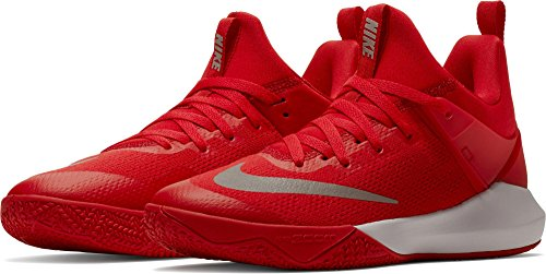 Top Rouge Femmes Baskets Basketball Nike Up Blanc Low nwHW6wqa