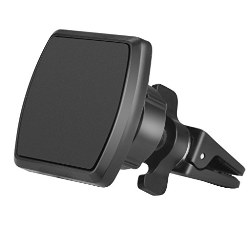 Neetto Magnetic Phone Car Mount Holder Air Vent, Universal Compatible with iPhone X 8 8 Plus 7 7 Plus 6s 6 Plus Samsung Galaxy S9 S8 S7 LG, Nexu and More - 092