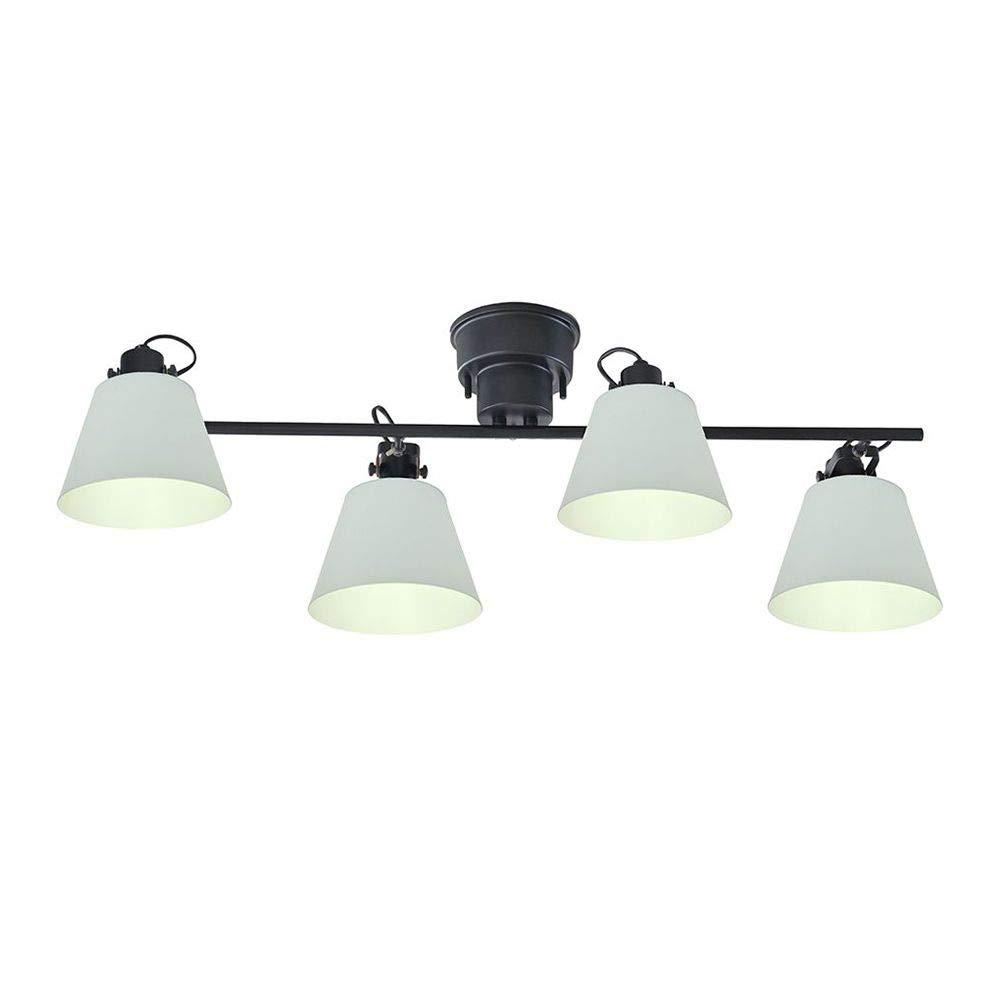 照明 FLAGS フラッグス 4灯シーリングスポットライト ブラック×グレー JQ5《メーカー直送品》 B07PX92M81 ブラック×グレー