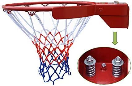 バスケットボールのフープ、リングとネット付きの公式サイズのバスケットボールリング45 cm