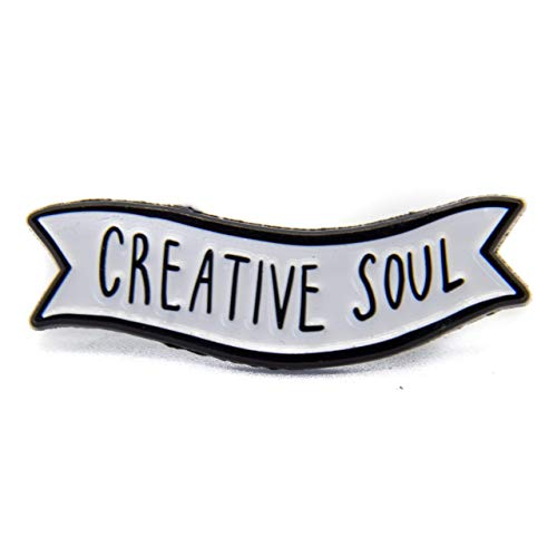 Ectogasm Creative Soul Artist Enamel Pin Banner