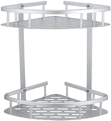 Hoomtaook cajita de repisas para Ducha, Organizador Ducha, sin Clavos. Autoadhesivo, Aluminio Espacio, para baños de Cocina: Amazon.es: Hogar