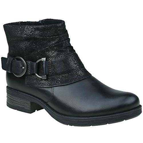 Leather Ladies Boots Ankle Earth Aurora Spirit Black Black wqCEBt