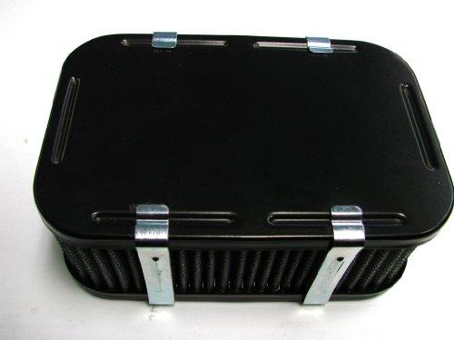 Allstate Carburetor AC2000F-6 – Weber Carburetor Air Cleaner Powder Coated Black DGV DGAV DGEV 32/36 2 1/2″