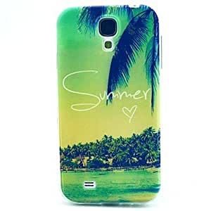 20150511 Holiday Resort TPU Soft Case for Samsung Galaxy S4 Mini I9190
