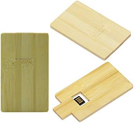 16GB Madera Tarjeta USB 2.0 Flash Memory Stick Drive Storage U ...
