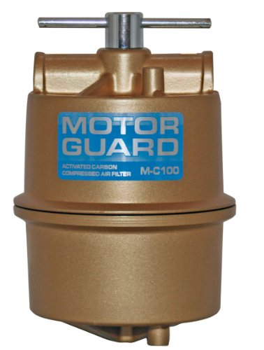 - Motor Guard M-C100 1/2 NPT Activated Carbon Compressed Air Filter