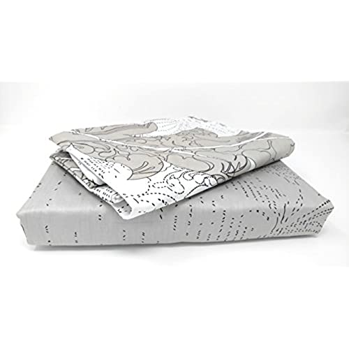 DaDa Bedding FSFSQ8197 4-Piece Real Leaves Cotton Sheet Set, Queen