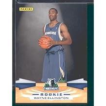 2009 /10 Panini NBA Basketball Card # 328 Wayne Ellington Minnesota Timberwolves Mint Condition