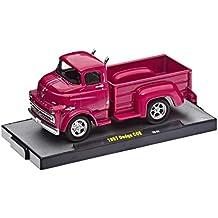 M2 Machines 1957 Dodge Fargo Truck COE Diecast Vehicle, Pink, 1:64 Scale