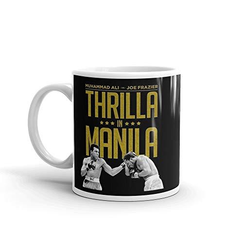 Thrilla In Manila 11 Oz White Ceramic