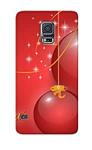 High Quality Tpu Case/ Red Globes ZszIJPc1564OIXxH Case Cover For Galaxy S5 For New Year's Day's Gift