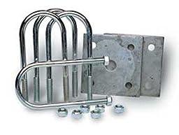 Tie Down Engineering 81180 Round Marine Axle Tie Plate Kit