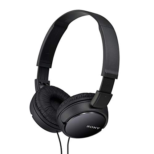 Head Stereo Headphones - Sony MDRZX110/BLK ZX Series Stereo Headphones (Black)