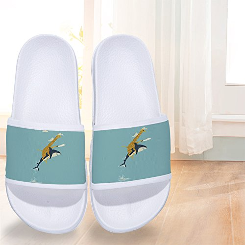 Boys Girls Non Slip Shower Shoes Wash Room Bathroom Bedroom Swimming Indoor & Outdoor Floor Slipper by CoolBao (Image #4)
