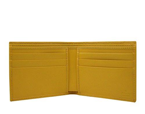 1b9a91adf1adf5 Gucci Men's Leather Micro GG Guccissima Trifold Wallet 217044 (Black)