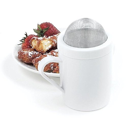 Norpro Sugar Flour Shaker Powdered Sugard Dust Sifter Lid...