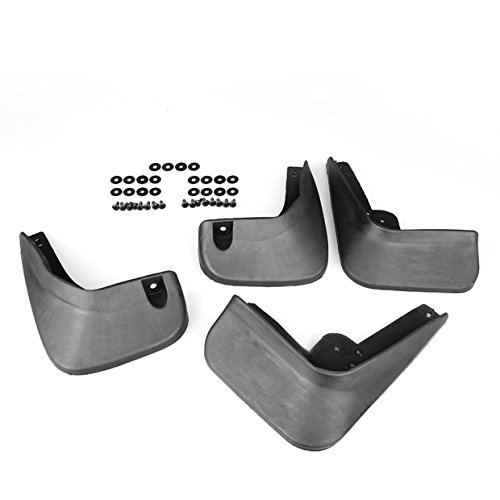 For 11 12 13 Hyundai Elantra MD GLS Sedan Black Set Of Rubber Mud Flaps Splash Guards Fender