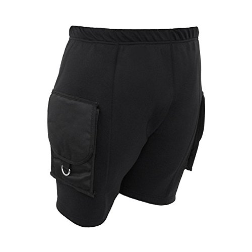 DGX Neoprene Pocket Shorts, Large by DGX
