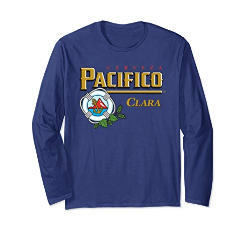 Pacifico Logo Long Sleeve T-Shirt for sale  Delivered anywhere in USA