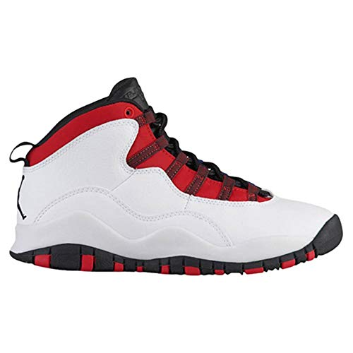Uomo Bianco Air 10 Retro Pelle Jordan Sneakers Men pRawnqg