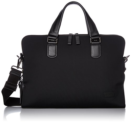 Tumi Harrison Seneca Slim Brief, Black Nylon by Tumi