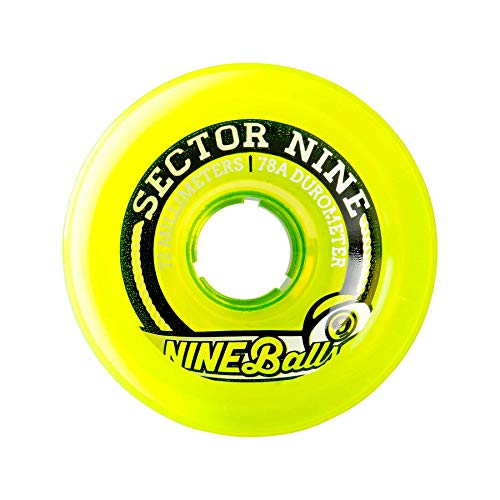 Sector 9 72MM 75A 9-Balls 72TS754,Lime,72