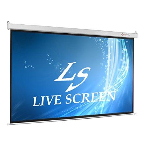 LIVE SCREEN 16:9 130インチ 電動格納 プロジェクタースクリーン   B00U52PFIA