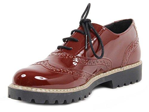 Versace 19.69 Zapatos De Brogue Para Mujer Tacón 3 cm
