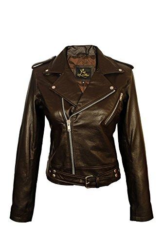 Nappa Leather Biker Jacket - SID Women's Lambskin Leather Biker Black Jacket