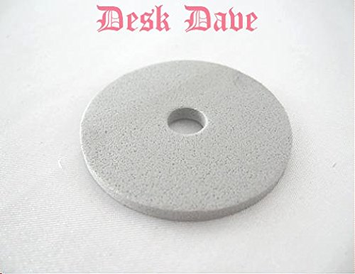 Desk Dave's ID: 163149S. New Sewing Machine Spool Cap Sponge, Compatible w/Singer, Touch-n-Sew, Creative Touch. Fits Spool Cap 163149-004, Others Below: Not for Singer Featherweight 221/222s