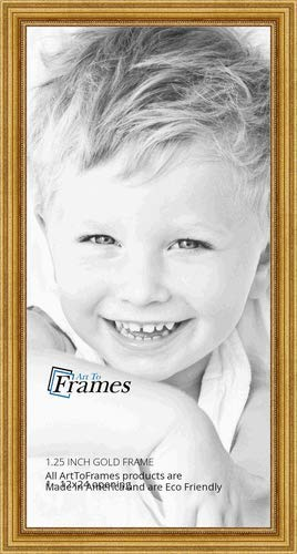 Amazoncom Arttoframes 12x24 Inch Gold Foil On Pine Wood Picture