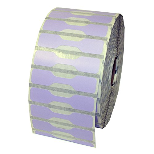 Zebra Printer Compatible 10010064 Lavender Jewelry Labels - Barbell Style - 3510 Labels Per Roll