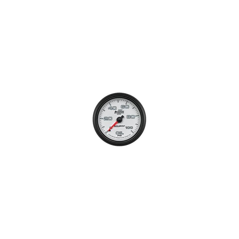 Auto Meter 7821 Phantom II Mechanical Oil Pressure Gauge