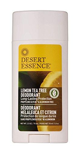 Desert Essence Lemon Tea Tree Deodorant - 2.5 oz