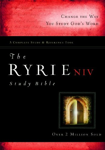 The Ryrie NIV Study Bible Hardback Red Letter (Ryrie Study Bibles 2008) ebook