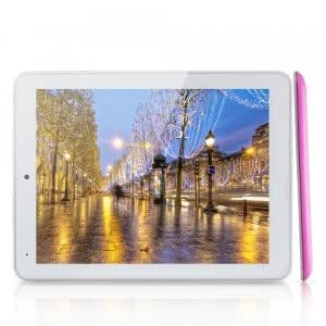 "IAIWAI AW920 8"" Capacitive IPS HD Quad-core Android 4.1 8GB Tablet PC PIP Camera White & Pink"
