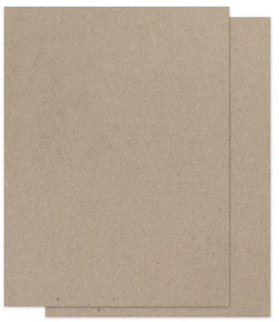 Brown Bag Paper - KRAFT - 8.5 x 11 - 28/70lb Text - 200 PK