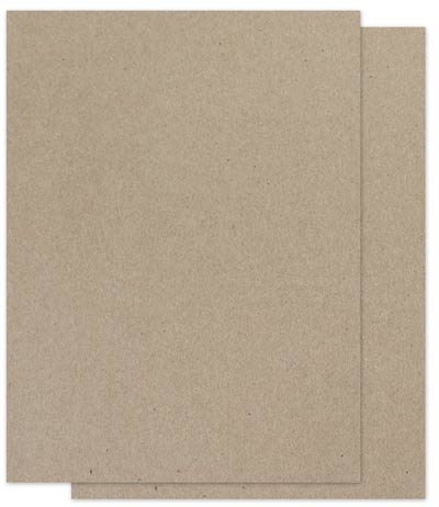 Amazon Com Brown Bag Paper Kraft 8 5 X 11 65lb Cover 100