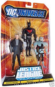 DC Super Heroes: Justice League Unlimited > Hawkman, Reverse Flash and Rocket Red Action Figure Multi-Pack by Mattel