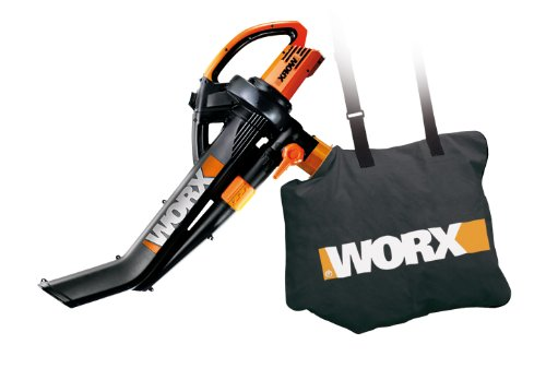WORX WG502 TriVac Delux Blower/Mulcher/Vacuum 12.0 Amp With Metal Impeller