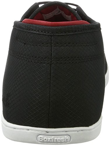 Boxfresh Sparko ICN Rip NYL Men's Low-Top Sneakers, Black (Black)