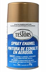 Testor 1244T 3OZ Gold Metal or Metallic Spring or Spray Enamel from TESTOR CORPORATION