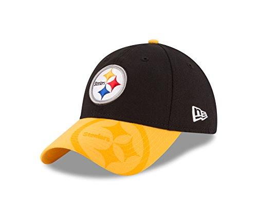 2009 Womens Cap (NFL Pittsburgh Steelers 2016 Women's Side Line LS 9TWENTY Adjustable Cap, One Size, Black/Gold)