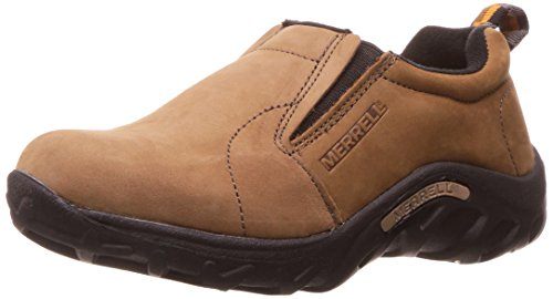 Merrell Jungle Moc Nubuck (Toddler/Little Kid/Big Kid),Brown,4.5 M US Big Kid ()